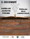 "Forums ""PieDalies ideju laboratorijā!"""